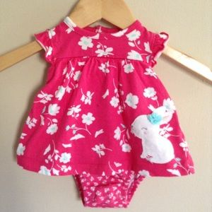Carters Bunny Baby Dress